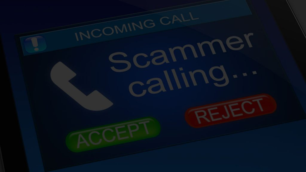 Indian scammer phone number