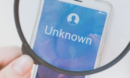 Reveal Unknown Numbers identity with who texted me app