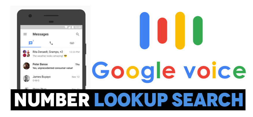 Google Voice Number Lookup Search