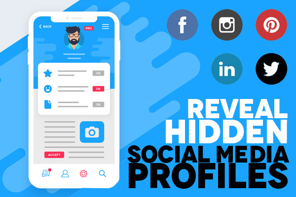 Reveal Hidden Social Media Profiles by Phone Number or Name