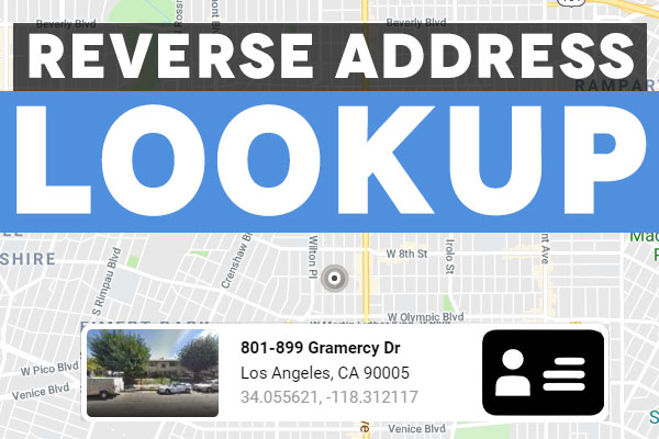 Reverse Address Lookup Search