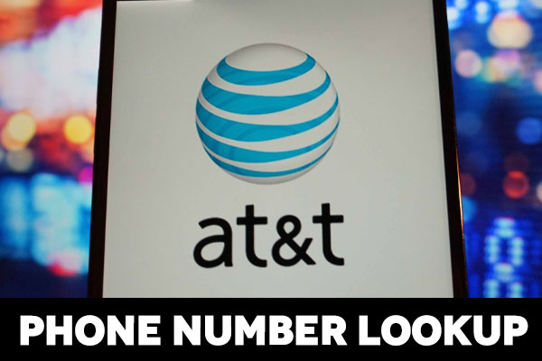 AT&t phone number lookup