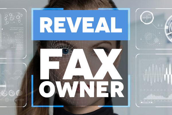 Reveal Who owns fax number with reverse fax lookup