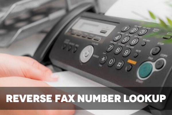 Reverse Fax Number Lookup