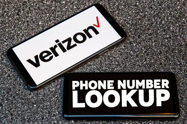 Verizon phone number lookup search