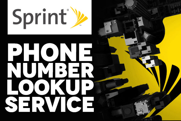 sprint phone number lookup service